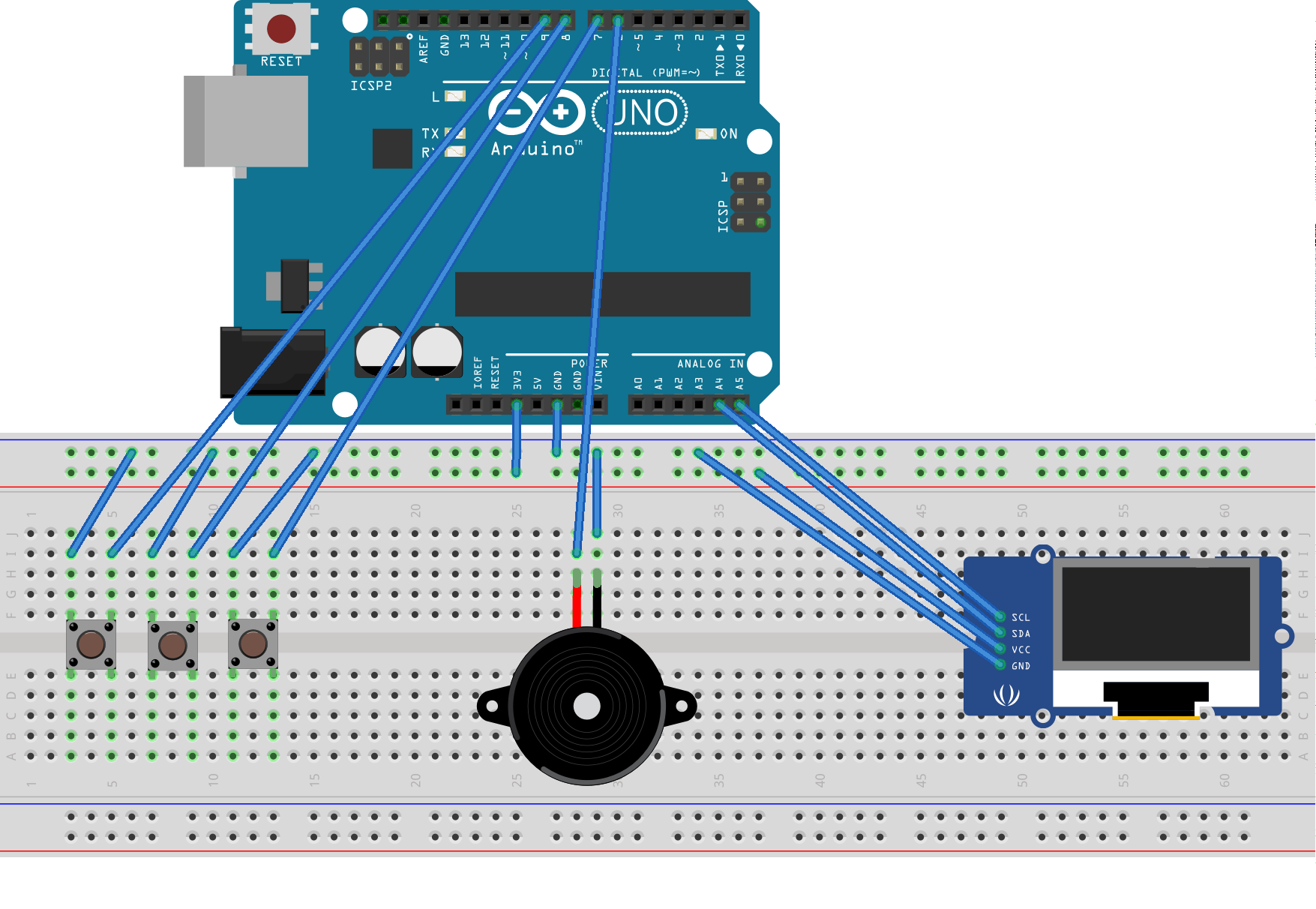 Tamaguino Tamagotchi Clone For Arduino Breadboard Please Use Appropriate Sketch From Sources